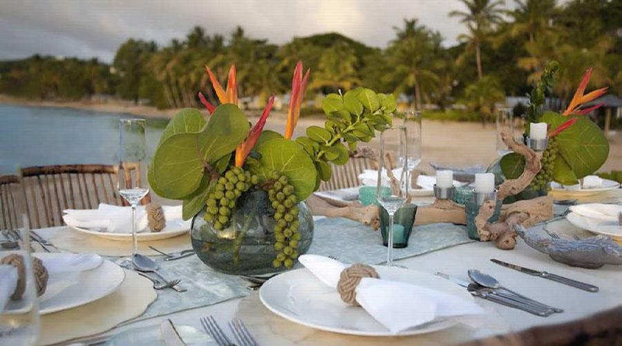 beach private dining