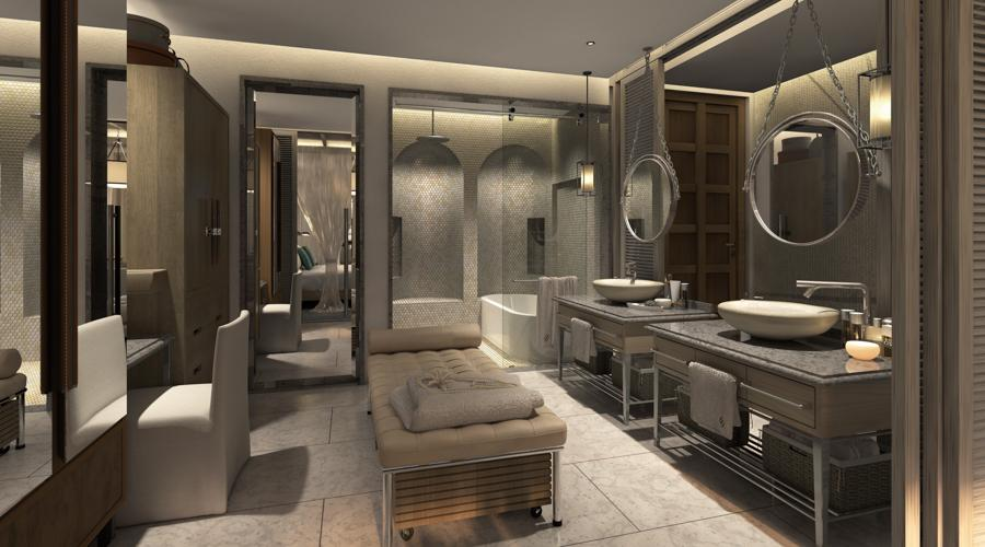 spa bathroom