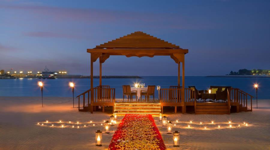 al qasr romantic dining