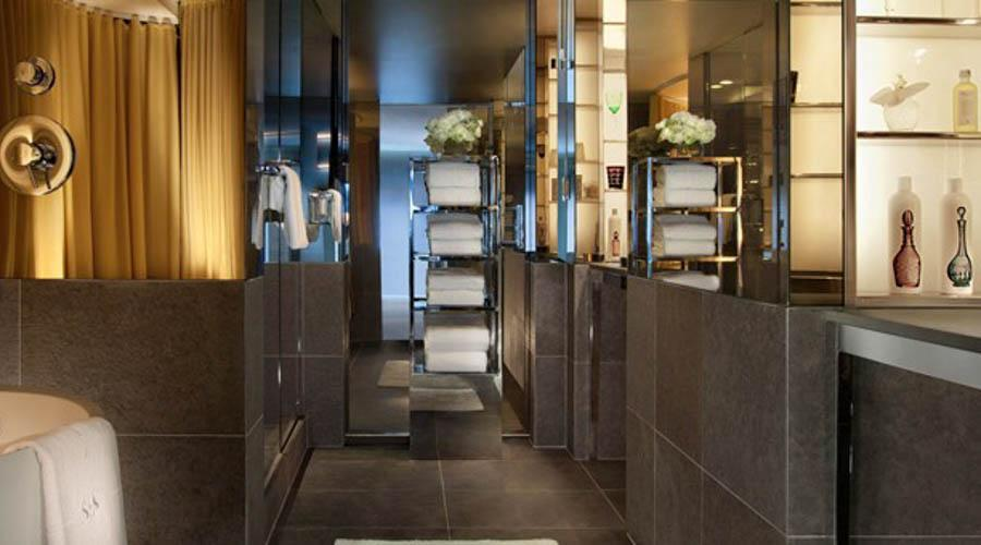sls hotel at beverly hills experienced shower