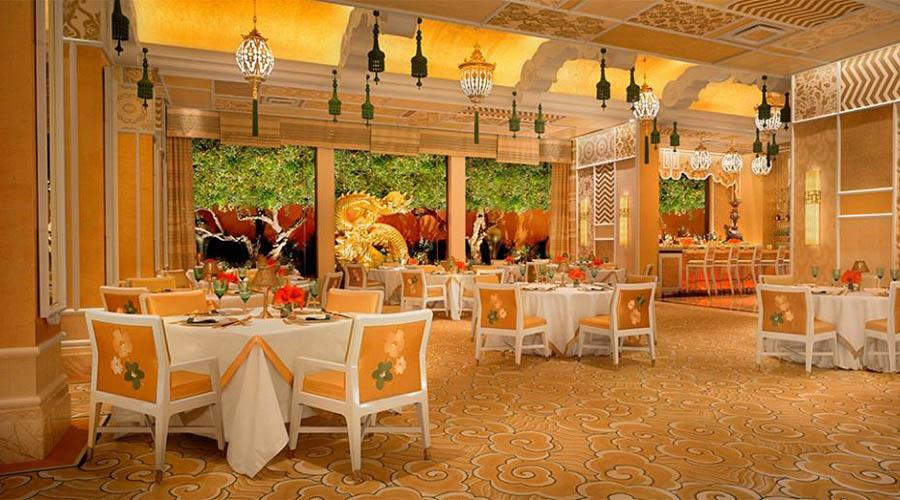 luxury restaurant room