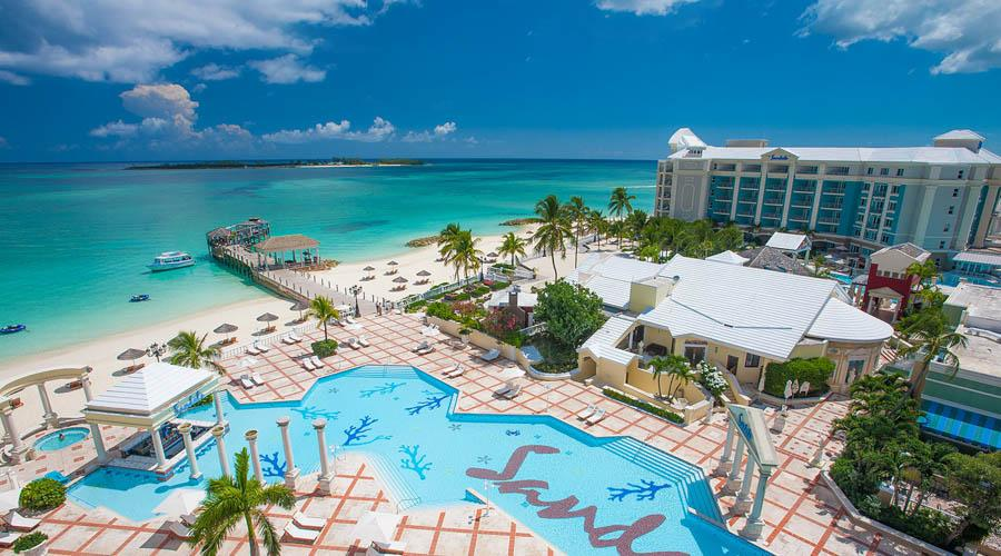six extraordinary pools at sandals royal bahamian