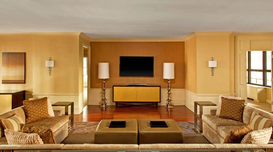 presidential sitiing room suite