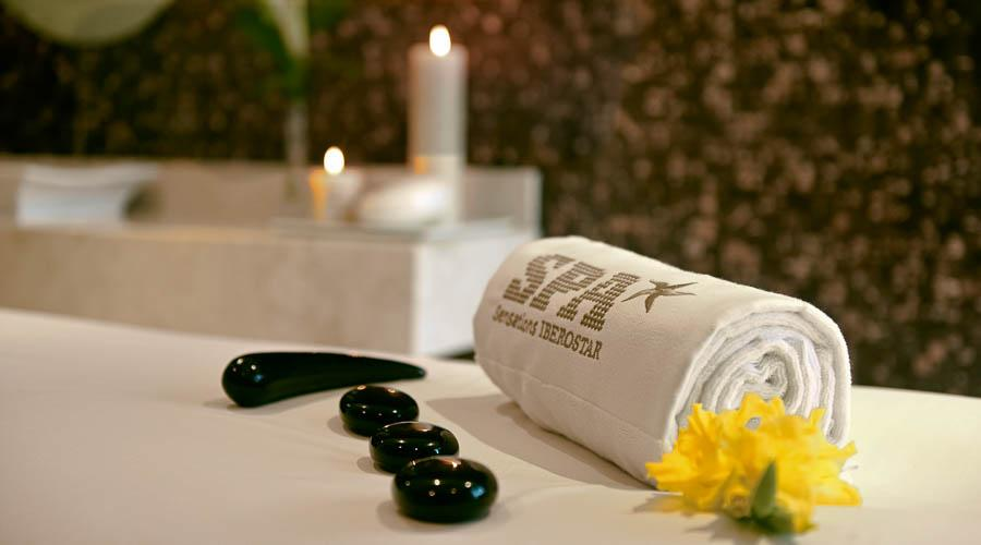 spa towel with logo