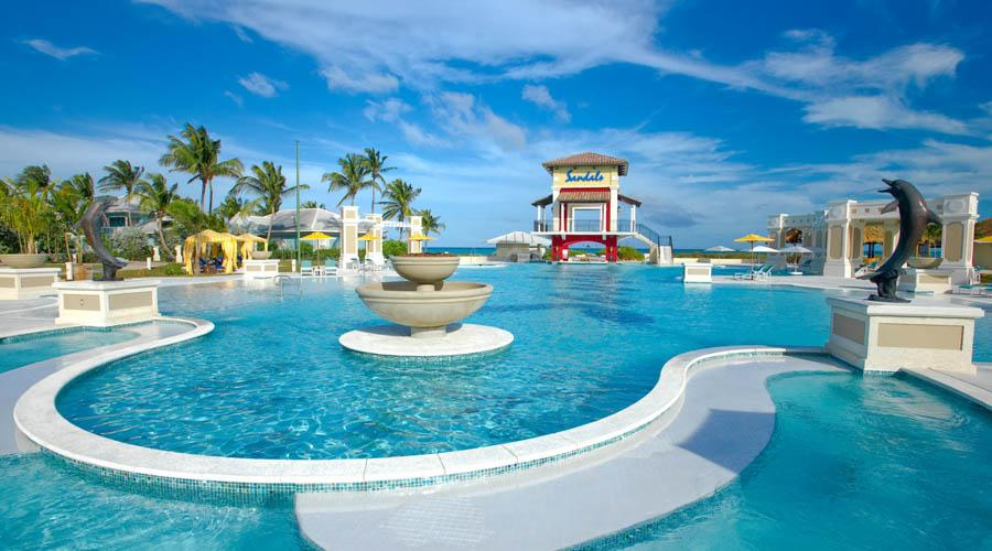"""Savings are valid on Flight + Hotel """"Holiday Package"""" or """"Hotel"""" only bookings staying at selected Sandals and Beaches Resorts in selected room types only for a minimum of 3 nights, valid for travel on selected dates between 1 January to 31 December inclusive, only."""