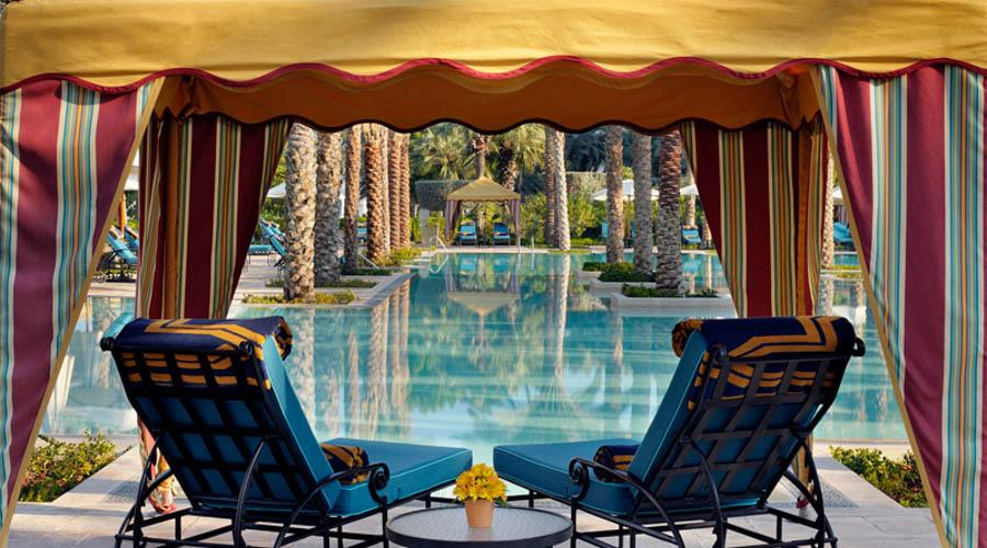 One&Only Royal Mirage The Palace grand pool gazebo